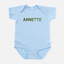 Annette, Vintage Camo, Infant Bodysuit