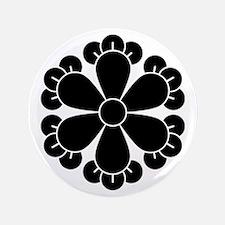 """Six cloves 3.5"""" Button"""