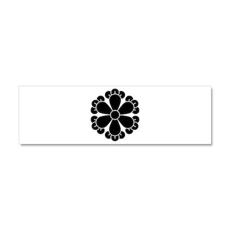 Six cloves Car Magnet 10 x 3