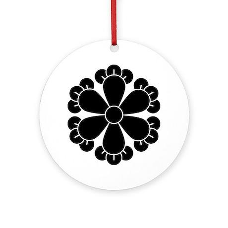 Six cloves Ornament (Round)