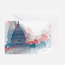 Capitol Crisis Greeting Card
