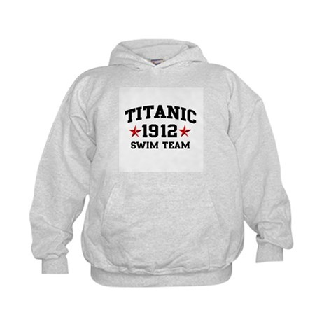 Titanic Swim Team Kids Hoodie