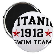 Titanic Swim Team Magnet