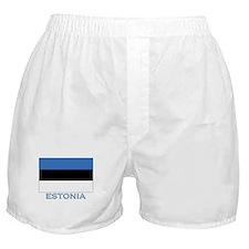 Estonia Flag Stuff Boxer Shorts