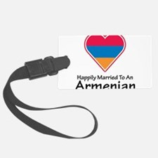 Happily Married Armenian Luggage Tag
