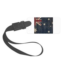 Vintage Australia Flag Luggage Tag