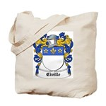 Civille Coat of Arms Tote Bag