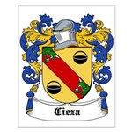 Cieza Coat of Arms Small Poster