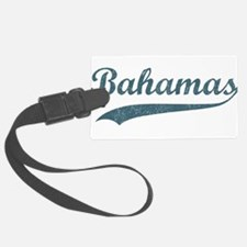 Vintage Bahamas Luggage Tag