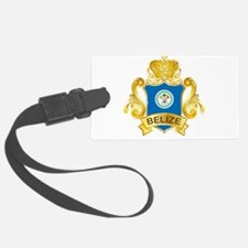 Gold Belize Luggage Tag