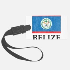 Vintage Belize Luggage Tag