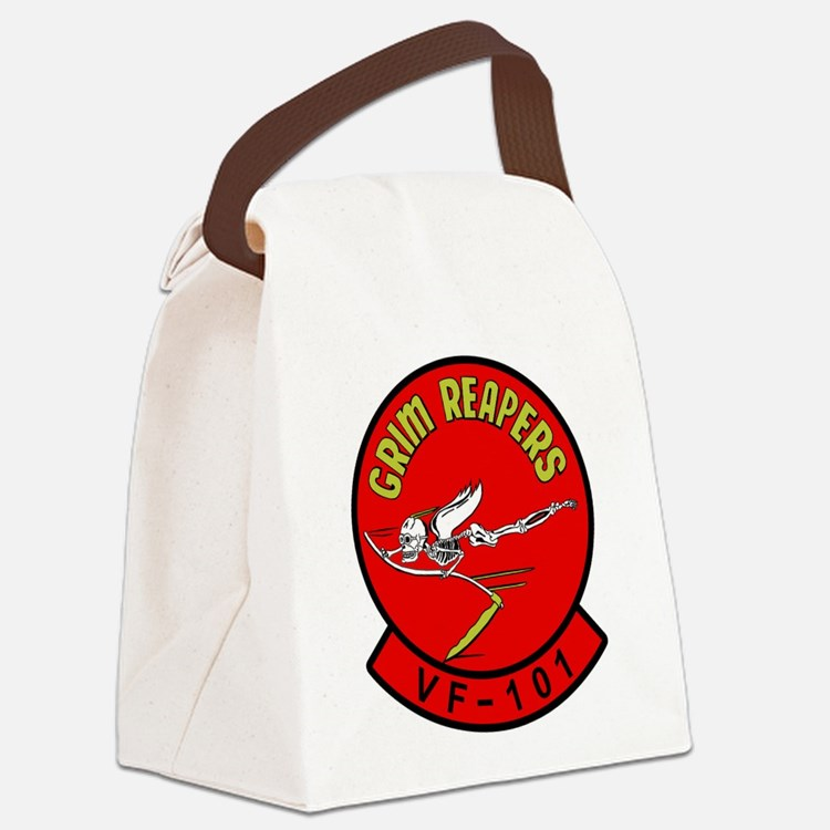 vf101.png Canvas Lunch Bag