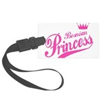 Bosnian Princess Large Luggage Tag