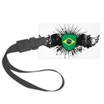Brazil Large Luggage Tag