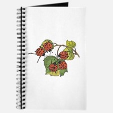 Ladybugs on Leaves Journal