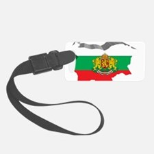3D Map Of Bulgaria Luggage Tag