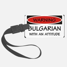 Attitude Bulgarian Luggage Tag