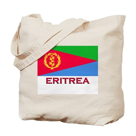 Flag of Eritrea Tote Bag