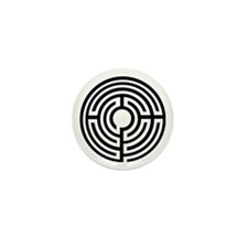 100 Simple Labyrinth  Mini Buttons