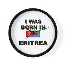I Was Born In Eritrea Wall Clock