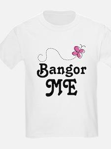 Bangor Maine (Butterfly) T-Shirt