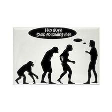 Funny Evolution Rectangle Magnet