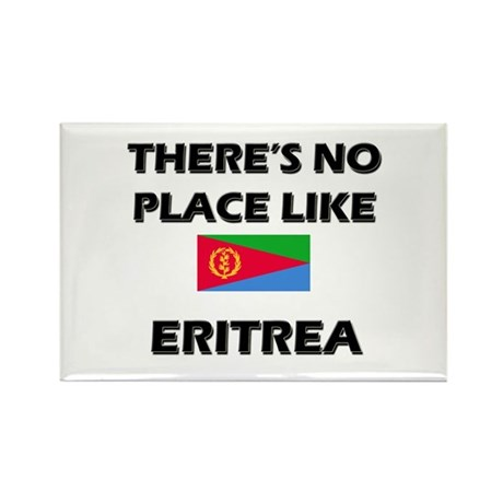 There Is No Place Like Eritrea Rectangle Magnet