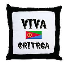 Viva Eritrea Throw Pillow