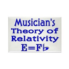 Music Theory Teacher 2 Rectangle Magnet