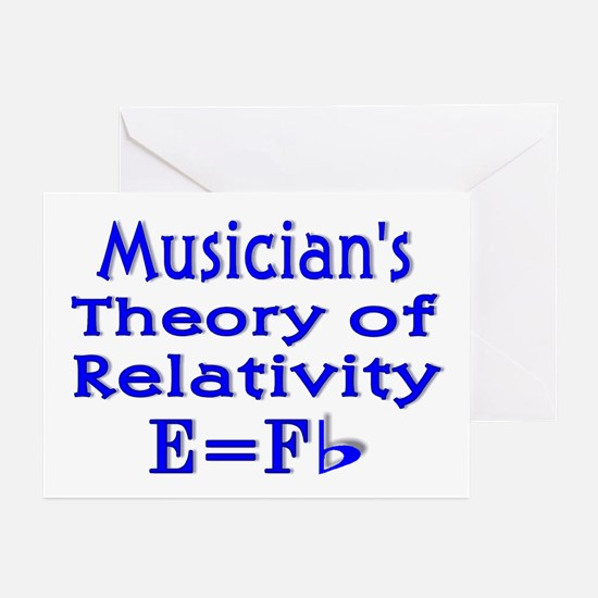 Music Theory Teacher 2 Greeting Cards (Package of