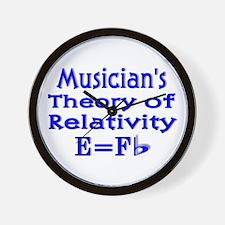 Music Theory Teacher 2 Wall Clock