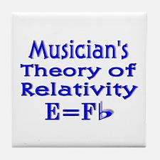 Music Theory Teacher 2 Tile Coaster