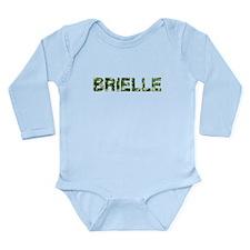 Brielle, Vintage Camo, Long Sleeve Infant Bodysuit