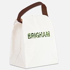 Brigham, Vintage Camo, Canvas Lunch Bag
