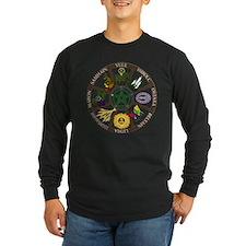 wheel2(trans) Long Sleeve T-Shirt