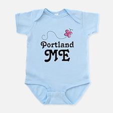 Portland Maine Infant Bodysuit