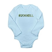 Bucknell, Vintage Camo, Onesie Romper Suit