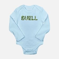 Buell, Vintage Camo, Long Sleeve Infant Bodysuit
