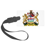 Alberta Coat Of Arms Large Luggage Tag