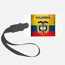 Vintage Colombia Luggage Tag