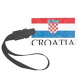 Croatia Luggage Tags