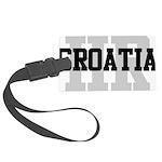 HR Croatia Large Luggage Tag