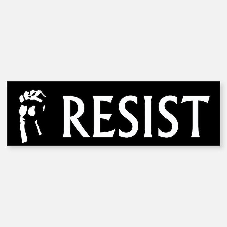 Resist Bumper Bumper Bumper Sticker