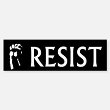Resist Bumper Car Car Sticker