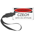 Attitude Czech Large Luggage Tag