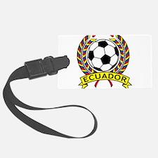 Ecuador Soccer Luggage Tag