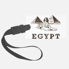 Vintage Egypt Luggage Tag