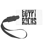 Egypt Rocks Large Luggage Tag