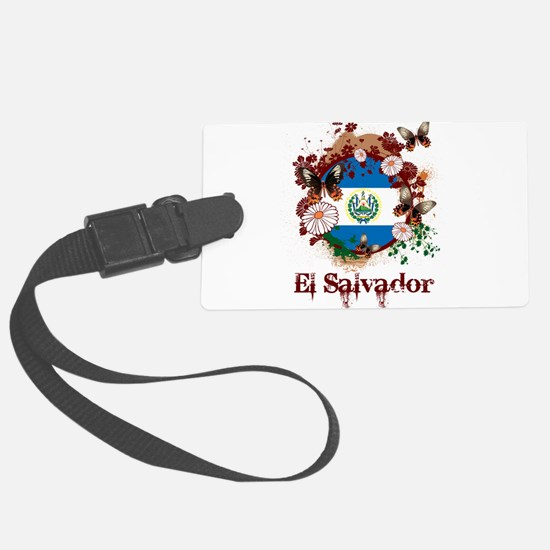 Butterfly El Salvador Luggage Tag