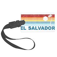 Cute Salvador Luggage Tag